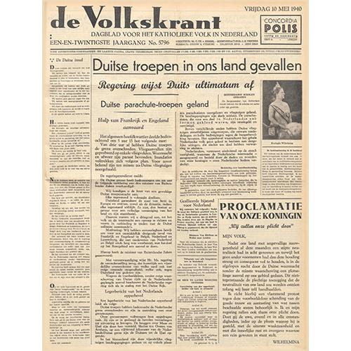 100 JAAR VOLKSKRANT: DOOR DE OGEN VAN DE JOURNALIST